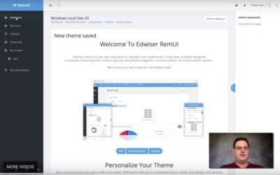 Installing RemUI theme on Moodle 3.3